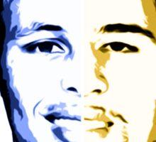 Curry & Klay Split  Sticker