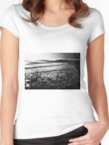 DAWN SHORE Women's Fitted Scoop T-Shirt