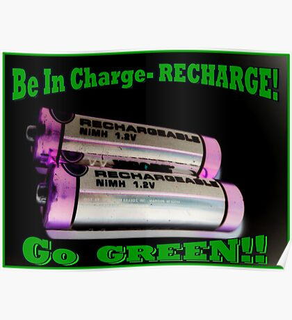 Be In Charge-RECHARGE! Poster