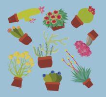 Desert Flora One Piece - Short Sleeve