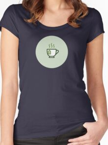 Tea Icon - Drinks Series Women's Fitted Scoop T-Shirt