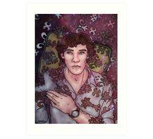 Sherlock Moment Art Print