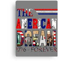 Fourth of July America Canvas Print