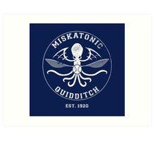 Miskatonic Quidditch Art Print