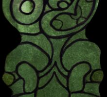 Maori Tiki iPhone Case Sticker