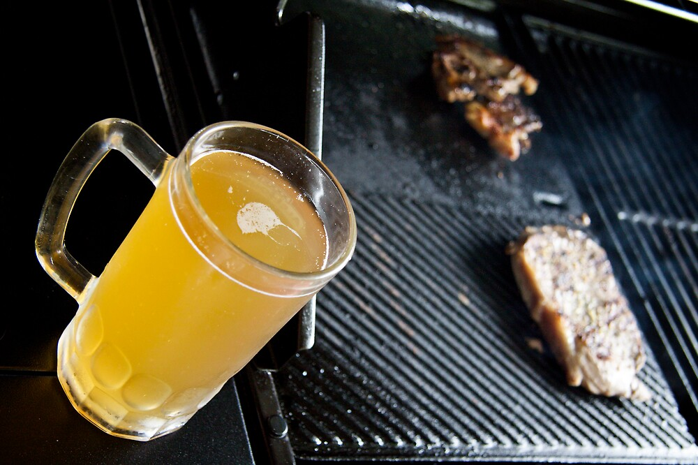 Beer and Steak by doughnut