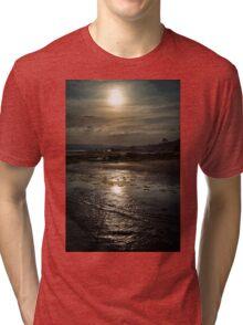 A Walk Along The Shore Tri-blend T-Shirt