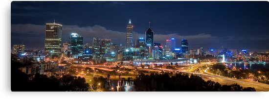 Perth Skyline by Jonathan Stacey