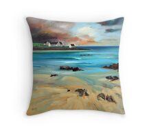 Tiree Shore Throw Pillow