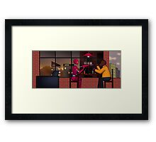 Evening Game Framed Print