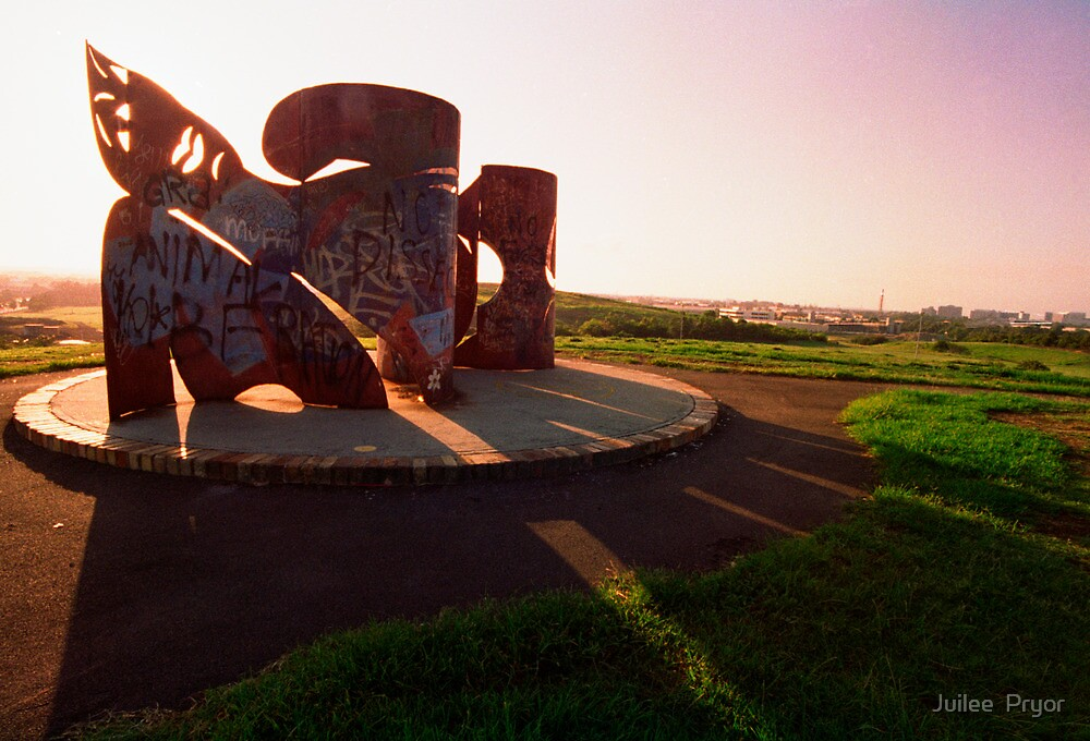 Sydney Park sculpture by Juilee  Pryor
