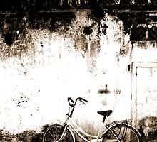 """And The Bike Spoke"" - Hoi An, Vietnam by Tamara Brown"