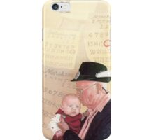 Grandpa and Grandson  iPhone Case/Skin