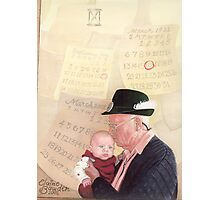 Grandpa and Grandson  Photographic Print
