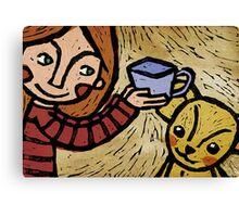 Want more tea? Canvas Print