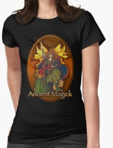 Celtic Dragon Fairy Womens Fitted T-Shirt