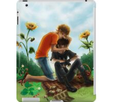 Then he walked back, where Will Solace was waiting iPad Case/Skin