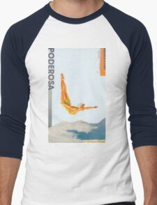 Hidden Beauty Men's Baseball ¾ T-Shirt
