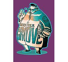 MR GROOVE. Photographic Print