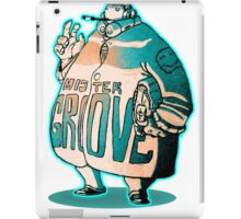 MR GROOVE. iPad Case/Skin