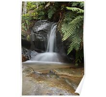 Small Waterfall @ Blue Mountains Poster