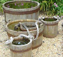 Colonial Water Buckets by bmwlego