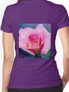 Pink Beauty Queen Women's Fitted V-Neck T-Shirt