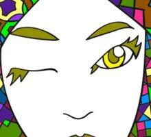 Goddess 10 of Book 2 Sticker