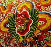 Dragons in Hong Kong by mklau