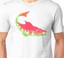 ALASKA SALMON ~ cups, mugs, scarves, leggings and more Unisex T-Shirt