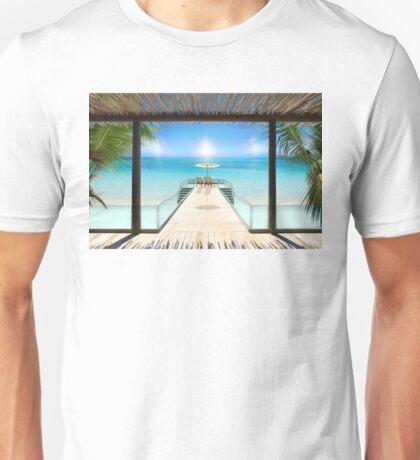 Sun Halo in the Seychelles Unisex T-Shirt