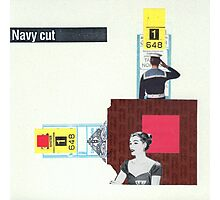Navy Cut Photographic Print