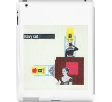 Navy Cut iPad Case/Skin