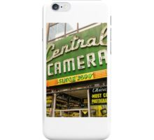 central camera iPhone Case/Skin