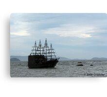 Yo Ho Ho! It's a pirate ship matee! Canvas Print
