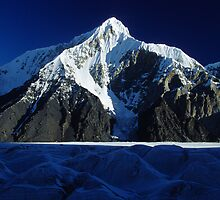 Goki Peak, Tian Shan (Mountain of the sky), Kyrgyzstan  by Leo Shum