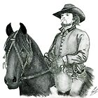Athos and his horse Roger - The Musketeers by burketeer