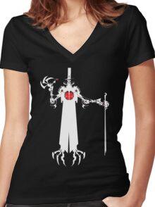 Killbot 08 - Saucy Jack Women's Fitted V-Neck T-Shirt