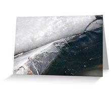 Ice Fold Greeting Card