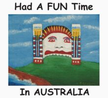 Had A Fun Time In AUSTRALIA by C J Lewis