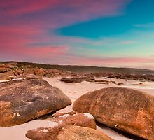 Granite Coastline II by Jonathan Stacey