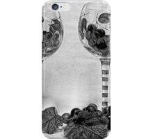 Wine Glasses iPhone Case/Skin