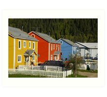 Yes, It's A Very Colourful Neighbourhood Art Print