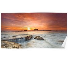 Mystical Sunset Poster