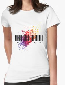 H.U.M.A.N Womens Fitted T-Shirt