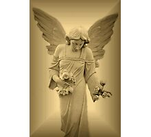 Loving Angel Photographic Print