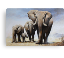 A Proud Father Canvas Print