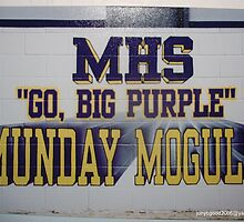 MUNDAY FOOTBALL FIELD MURAL by Billy Ines