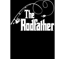 The Rodfather Fishing Parody T Shirt Photographic Print