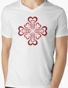 Love is in the air! Mens V-Neck T-Shirt